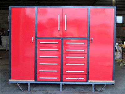 Red Tool Cabinet