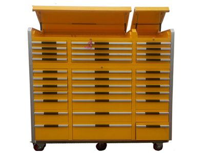33 Yellow Tool Cabinet